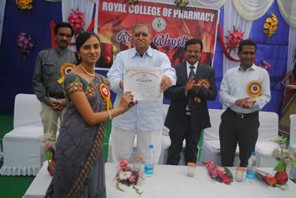 Awards at Royal College of Pharmacy