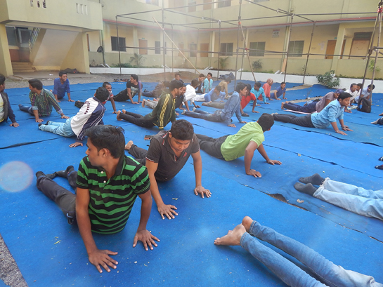 Yoga Day at Royal College of Pharmacy